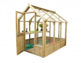 Vale Presure Treated Greenhouse 2438mm X 1829mm
