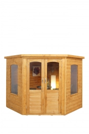 Cranbourne Corner Summerhouse Natural Timber 2133mm X 2133mm