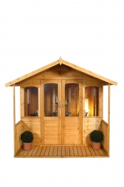 Hollington Summerhouse Natural Timber 2438mm X 2438mm