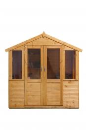 Barleywood Summerhouse Natural Timber 2133mm X 1524mm