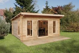 Mendip Log Cabin 5000mm X 4000mm