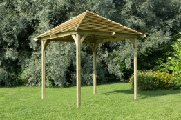 Pressure Treated Timber Venetian Pavilion (without Decking)