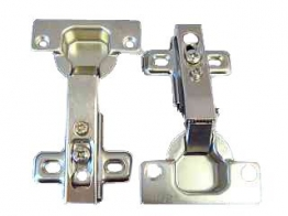 4trade Hinges Concealed Sprung Nickel Plated 35mm Pack Of 2