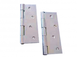 4trade Butt Hinges Zinc Plated 100mm Pack Of 2
