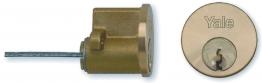 Yale 4 Keyed Cylinder Polished Brass