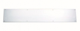 4trade Kicking Plate Satin Anodised Aluminium 825mm X 152mm