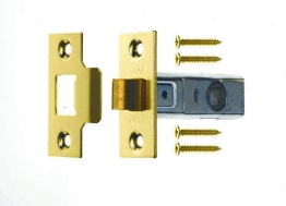 4trade Tubular Mortice Latch Brass 76mm
