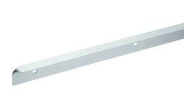 Homelux Kitchen Worktop Trim Corner Joint Kit Satin Aluminium 630mm No1