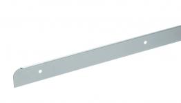Homelux Kitchen Worktop End Trim Satin Aluminium 30mm X 630mm No13