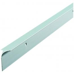 Silver Worktop Aluminium Corner Joint 630mm C30slp