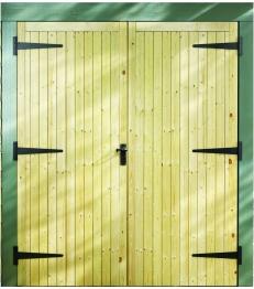 External Garage Pine Door 2133mm X 1981mm X 44mm