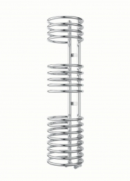 Iflo Hoata Designer Towel Radiator Chrome 1200mm X 300 Mm
