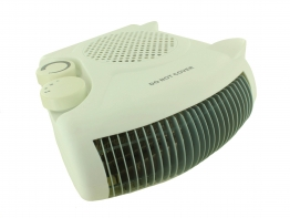 Portable Fan Heater 2kw 2 Heat Settings