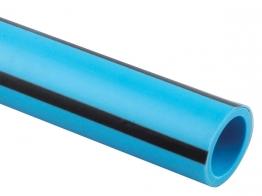 Wavin 63mm X 25 Pe80 Blue 63pw025