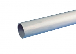 Osma 40mm Pushfit Waste Grey Plain Ended Pipe 3m