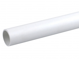Osmaweld Waste White Plain Ended Pipe 3m 32mm