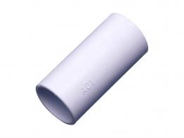 Osma 21.5mm Solvent Weld Overflow Double Socket White