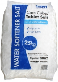 Bwt Care Cubes 25kg Tablet Water Softener Salt