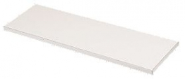 Plastic Laminated Chipboard Shelving White 15mm X 2440mm X 381mm