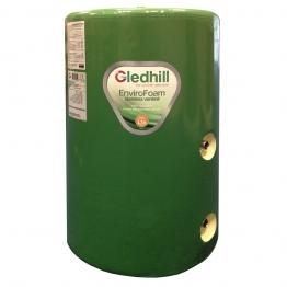 Gledhill Se48x18ind Indirect Envirofoam Lagged Steel Cylinder 162l 1200mm X 450mm