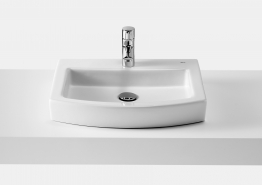 Roca 327882ct0 Hall On Countertop Basin 1 Tap Hole 520mm X 440mm