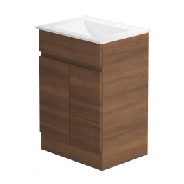 Pure 600 Floorstanding Vanity Unit/walnut Walnut
