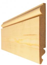 Timber Torus/ogee Skirting Standard 25x125mm (fin Size 20.5x119mm)