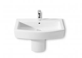 Roca 337621000 Hall Semi Pedestal White To Suit 650, 500mm Basins