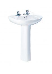 Roca A331295003 Polo Pedestal White