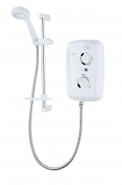 Triton Fast-fit 9.5kw White Chrome