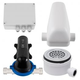 Stuart Turner Wasteflo Shower Waste Pump Assembly 90mm Shower Tray Gully