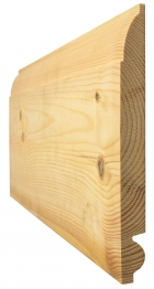 Skirting Torus/ovolo Best Pattern 162 25mm X 150mm Finished Size 20mm X 144mm