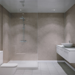 Grant Westfield Multipanel Shower Panel Unlipped Nat White 2400mm X 1200mm