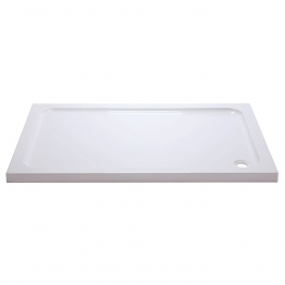 Iflo Abs Capped Slimline Stone Shower Tray 1200mm X 900mm