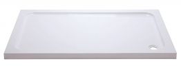 Iflo Abs Capped Slimline Stone Shower Tray 1000mm X 800mm