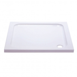 Iflo Abs Capped Slimline Stone Shower Tray 800mm X 800mm