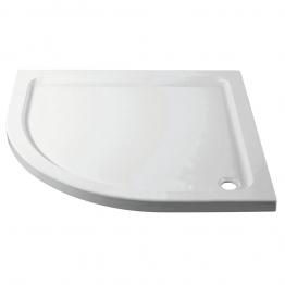 Iflo Quadrant Abs Capped Slimline Stone Shower Tray 900mm