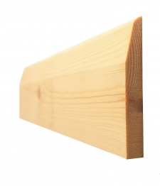 Skirting Chamf & Pencil Round Standard 19mm X 150mm Finished Size 14.5mm X 144mm