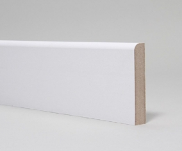 Mdf Moulded & Primed Pencil Round Skirting 18mm X 94mm X 4.4m