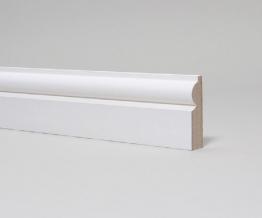 Mdf Moulded & Primed Torus Architrave 18mm X 69mm X 4.4m