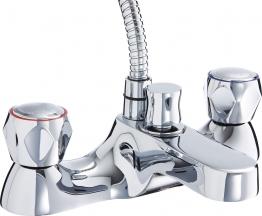 Iflo Base Deck Bath Shower Mixer Tap Brass