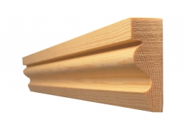 Architrave Ogee Best Pattern 58 19mm X 50mm Finished Size 14.5mm X 44mm