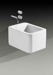 Roca 357575000 Element Wall Hung Bidet And Anchorage Fixings White