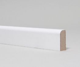 Mdf Moulded & Primed Pencil Round Architrave 14.5mm X 44mm X 4.4m