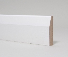 Mdf Moulded & Primed Chamfered And Rounded Architrave 14.5mm X 44mm X 4.4m