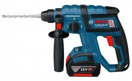 Bosch Sds+ Hammer Drill - Bosch Gbh 18v-ec Sds+ 3-fun Brushless Hammer Drill 2 X 4.0ah