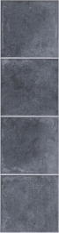 4trade Antracite Ant Stone Tile Laminate 1285mm X 327mm X 8mm