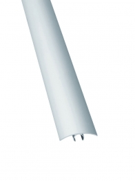 4trade Floor Cover Trim Extra Wide Silver 1800mm