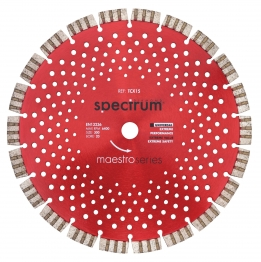 Spectrum Universal Turbo-segmented Diamond Blade Tcx15 115mm