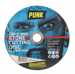 Punk Stone Cutting Disc 180mm